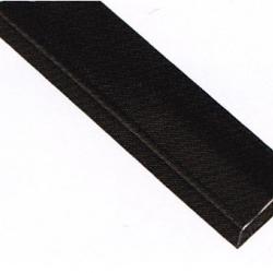 แป๊บเหลี่ยมขนาด 15*30 มม. สีบรอนซ์เงิน ดำ และ ขาว