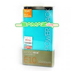 ปรับราคาใหม่ !! ลดพิเศษ Power bank แบตสำรองไฟฟ้า Eloop E10 10000mAh ของแท้ 100% จากโรงงาน พกพาสะดวก สำหรับมือถือ IPhone Samsung และ Tablet ทุกรุ่น
