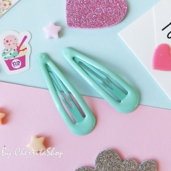 มิ้น-กิ๊บคู่ กิ๊บเนื้อ Jelly Candy Color HR9005-MI