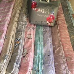 ขายส่ง ผ้าห่มนวม AQ เย็บขอบตกแต่ง ส่ง 260 บาท