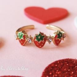 แหวน สตอเบอรี่ RG002