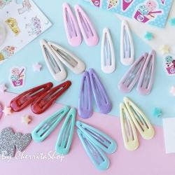กิ๊บคู่ กิ๊บเนื้อ Jelly Candy Color HR9005