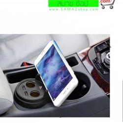 ราคาพิเศษ HOCO UC207 ที่ชาร์ท ในรถทรงแก้ว 2-Port USB และ 2 รูสำหรับ เสียบที่จุดบุหรี่ ทนทาน ใช้ง่าย