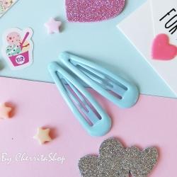 ฟ้า-กิ๊บคู่ กิ๊บเนื้อ Jelly Candy Color HR9005-BU