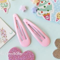 ชมพู-กิ๊บคู่ กิ๊บเนื้อ Jelly Candy Color HR9005-P