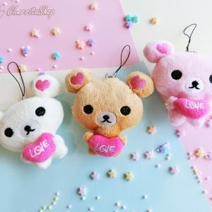 ราคาส่งยกโหล ตุ๊กตา (มีทั้ห้อย) Love Teddy Bear CM3060-DZ