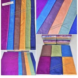 ขายส่ง ผ้าเช็ดตัวนาโน สีพื้น แบบหนา ส่ง 49 บาท