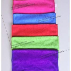 ขายส่ง ผ้าเช็ดผมนาโน สีพื้น (แบบบาง) 30*70 cm ส่ง 11 บาท