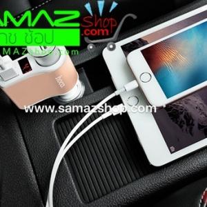 ราคาพิเศษ Hoco Car Charger Digital Display 3 in1 ช่องขยายจุดบุหรี่ภายในรถยนต์ รุ่น Z10 ของ แท้ ร้อยเปอร์เซนต์