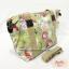 กระเป๋า Chalita wu + สะพาย สีเขียว ลายดอกไม้ thumbnail 2