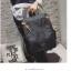 กระเป๋าเป้ Pocket Flap style สีดำ thumbnail 8