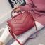 กระเป๋าแฟชั่น สีแดง thumbnail 2