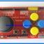 1x JoyStick Keypad Shield Module for Arduino nRF24L01 Nokia5110 LCD I2C (RED PCB) thumbnail 5