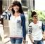 เสื้อคู่ เสื้อคู่รัก ชุดพรีเวดดิ้ง ชุดคู่รัก เสื้อคู่รักเกาหลี เสื้อผ้าแฟชั่น ผู้ชาย + ผู้หญิง เสื้อแขนยาวสีขาว ตัดด้วยแขนเสื้อลายฟ้าขาว ผลิตจากผ้าฝ้าย เนื้อนิ่ม หนา ใส่ สบาย งานจริงสวยๆมากค่ะ thumbnail 11