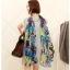 ผ้าพันคอชีฟอง สีน้ำเงิน ( รหัส P7 ) thumbnail 2