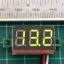 1x Mini Digital DC Voltmeter module 0-32 Vdc Green LED 7's Segment 3 Wires thumbnail 5