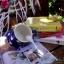 แก้วมักเซรามิกสีน้ำเงินลายดาว thumbnail 5