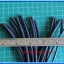 1x Heat Shrink Tube 3.0mm Black Color Length 1 meter 3M Brand thumbnail 2