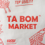 TABOM MARKET RED TWO-WAY BAG thumbnail 2