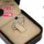 แหวนเงิน ประดับเพชร CZ แหวนพลอยทรงรูปหัวใจสีน้ำเงิน ล้อมเพชร ทรงแบบโมเดิร์น จัดเต็มแบบหรูๆ ดีเทลสวยตรึงใจ thumbnail 2