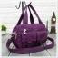 กระเป๋าเนื้อ kipling + สะพาย ใบเล็ก สีม่วง thumbnail 1