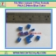 10x Mini Jumper 2 Pins Female Pitch 2.54mm Blue Color thumbnail 1