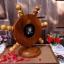 """นาฬิกาไม้สักตั้งโต๊ะ DCL ขนาด 8"""" thumbnail 5"""