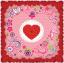 ผ้าพันคอลาย Rose Of Love thumbnail 3