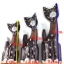 ตุ๊กตาไม้แกะสลักแมวบาหลี แบบ A thumbnail 8