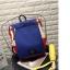 กระเป๋าเป้ Pocket Flap style สีน้ำเงินแดง thumbnail 12