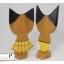 ตุ๊กตาไม้แมวคู่ ชาย-หญิง thumbnail 7