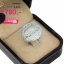 แหวนเงิน ประดับเพชร CZ แหวนทรงปลากระแบน แวววาวและดูหรูหรา ฝังเพชรแบบจิกไข่ปลา สวยหรูดูแพง งานเวอร์วังอลังการ thumbnail 2