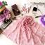 ผ้าคลุมไหล่ พร้อมกล่องของขวัญ รุ่น Delicated French Lace in Lotus Pink (Size M) ผ้าพันคอ ผ้าคลุมไหล่ลูกไม้ฝรั่งเศสสีชมพูกลีบบัว สีสวยมาก งานอลังการ สวยหรู เพอร์เฟคสุดๆ ลายเส้นลายดอกไม้มีช่องระหว่างกัน สวยงาม สามารถคลุมไปออกงานได้อย่างเก๋ๆ เลยค่ะ ผ้าพันคอ  thumbnail 8