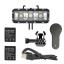 TELESIN POV 30m Dual Batteries Waterproof Diving LED Light for GoPro for Gopro Hero4 Session,4,3+,3 thumbnail 2