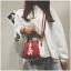 กระเป๋าถือ + สะพายข้าง LV SUPREME สีแดง thumbnail 1