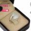 แหวนเงิน ประดับเพชร CZ แหวนทรงก้านไข้วใบไม้ประดับเพชร แวววาวสวยมีสไตล์ เพิ่มควาทหรูหราได้เป็นอย่างดี สะดุดตาประทับใจแก่ผู้พบเห็น thumbnail 2