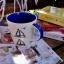 แก้วมักเซรามิคพื้นขาว ลายเรือใบ thumbnail 3
