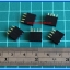 5x Female Pin Header 1x4 Pin Single Row Pitch 2.54mm (5pcs per lot) thumbnail 2