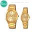 """นาฬิกาคู่ นาฬิกาข้อมือคู่ นาฬิกาข้อมือคู่รัก ยี่ห้อ CASIO CLASSIC """"GOLD"""" thumbnail 10"""
