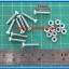 10x M3* 15mm Screws + 10x M3 Nuts (สกรูหัวกลม+น็อตตัวเมีย ขนาด 3มม ยาว 15มม) thumbnail 3