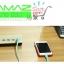 ราคาพิเศษ Remax U2 USB HUB Adapter 4 Port 4.2 MA แท่นวางมือถือ เบา สวยหรู ชาร์จเร็ว ระบบตัดไฟ thumbnail 4