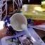 แก้วมักเซรามิกสีน้ำเงินลายดาว thumbnail 4