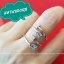 แหวนลูกศร แหวนธนู แหวนเป๊ก (รุ่นขาหนา) thumbnail 1