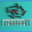 10x Housing 1 Pin Connector + 10x Female Crimp Terminal 2.54mm thumbnail 3