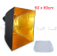 Umbrella softbox 60cm Gold thumbnail 1