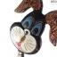 ตุ๊กตาไม้แกะสลัก กระต่ายแสนกล แบล็คกี้ (เซ็ท 3 ตัว) thumbnail 2