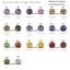 เพชรCZ 6A ทรงกลม มีทุกสี (ROUND ALL Color) - Size 1.00mm - 1แพ็ค - 1000เม็ด thumbnail 3