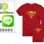 เสื้อครอบครัว ชุดครอบครัว เสื้อ พ่อ แม่ ลูก ลาย ซุปเปอร์แมน ผลิตจากผ้าคอตตอน 100% thumbnail 3