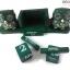 ปฏิทินไม้แกะสลักรูปนกฮูกคู่ (ไซส์ M) สีเขียว แบบ B thumbnail 4