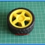 1x Plastic Smart Robot Car Wheel (ล้อรถ) thumbnail 5